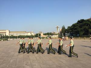 tiananmen troops