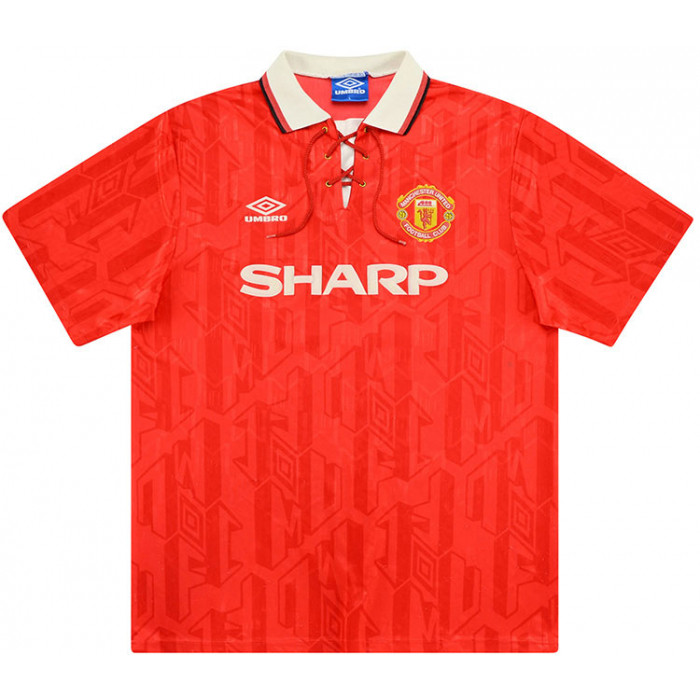 man united 92 home shirt