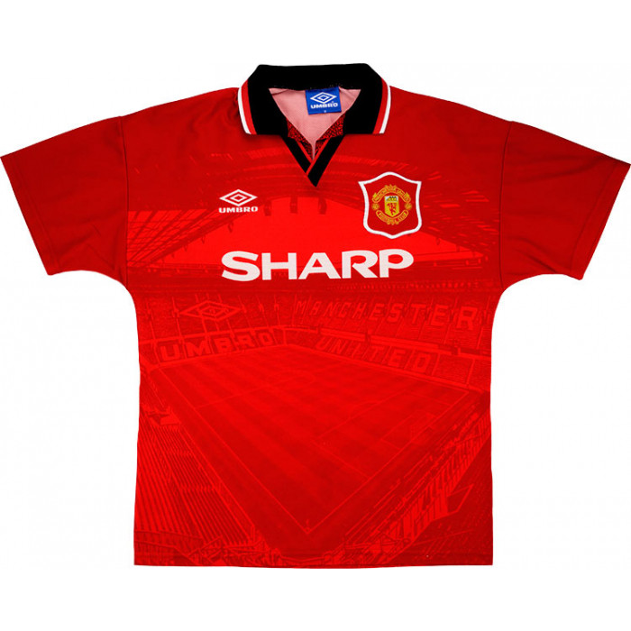 man united 94 home shirt